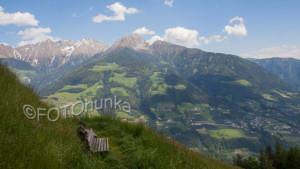 Fotografieren im Gebirge - Bildaufbau ist sehr wichtig