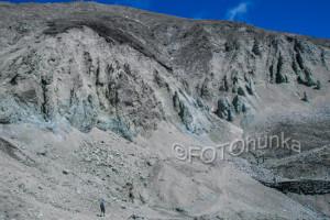 Fotografieren im Gebirge - Vergleichsobjekte in den Bildaufbau einbringen